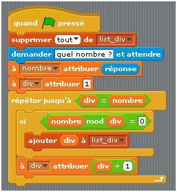 scratch langage de programmation