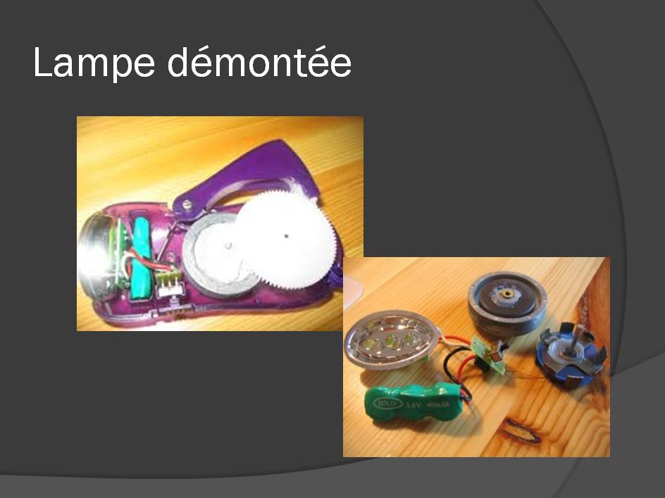 Lampe Demontee De Civray
